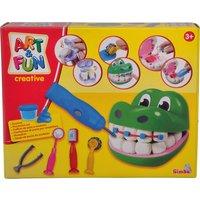 Art & Fun Knetset Krokodil Zahnarzt