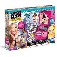 Clementoni Crazy Chic Tattoos mit App
