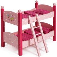 Puppen Etagenbett pink
