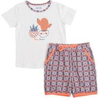 Baby Set T-Shirt und Shorts für Mädchen