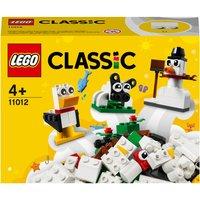 LEGO Classic11012Kreativ-Bauset mit weißen Steinen