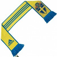 Schweden SVFF adidas 3 Stripe Scarf Fan Schal AY4382