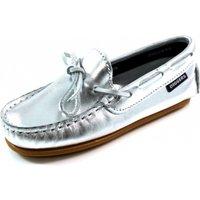 Diggers schoenen mocassins C600.03 Zilver DIG04