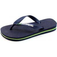 Havaianas slippers Kids Brasil logo Blauw HAV15