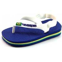 Havaianas slippers Baby Brasil logo Blauw HAV49