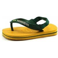 Havaianas slippers Baby Brasil logo Ochre, Geel HAV17