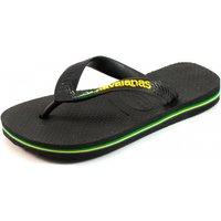 Havaianas slippers Kids Brasil logo Zwart HAV10
