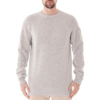 Manor-Crew-Neck-Sweater-Light-Grey