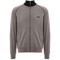 Funnel Neck Jacket - Medium Grey