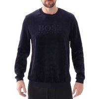 Velour-Sweatshirt-Dark-Blue