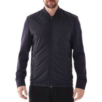 Zipthrough-sweatshirt-with-padded-front-panel-Dark-Blue