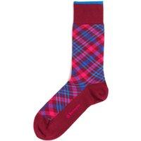 Cadogan Tartan Socks - Purple