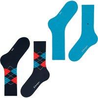 Everyday 2-Pack Men Socks - Blue Multi