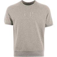 Light Fleece Crew Neck T-Shirt - Grey