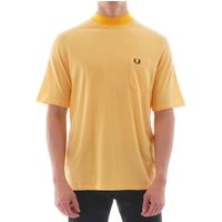 Fred-Perry-Two-Tone-Tshirt-Citrus-Yellow