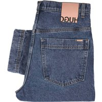 HUGO-843-Relaxed-Fit-Jeans-Blue