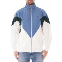 Standup-Neck-Colour-Block-Zip-Jacket-WhiteGreenBlue