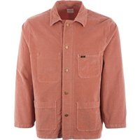 French Workers Jacket - Coral