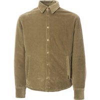 Quilted Cortina Cord Jacket - Khaki