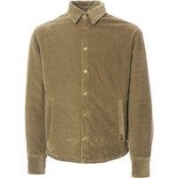 Quilted Cortina Cord Jacket - Khaki