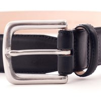 Leather Belt - Atlantic Blue - Made in England