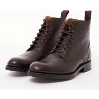 Braun Leather Boots - Dark Brown