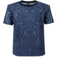 Armani Jeans Blue Dyed T Shirt A6C39