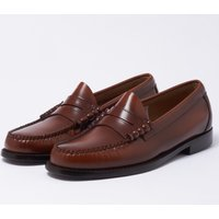 Larson Moc Penny Loafer - Mid Brown