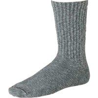 Cotton Ragg Crew Boot Socks - Black