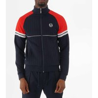 Star Track Top - Navy & Vintage Red