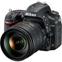 Nikon D750 Digital SLR Camera with 24-120 lens