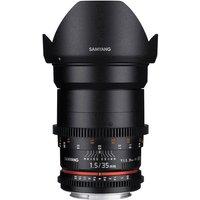 Samyang 35mm T1.5 VDSLR AS UMC II Cine Lens for Canon