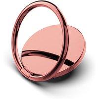 Generic 360 Grad Metall Handy Ring Halter - Rosa