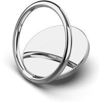 Generic 360 Grad Metall Handy Ring Halter - Silber