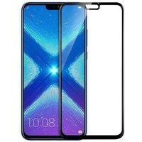 Generic Glas Schutzfolie für Huawei Honor 8X - Schwarz