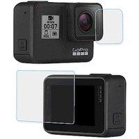 Generic Vorne & Hinten Glas Display Schutzfolie für GoPro 7