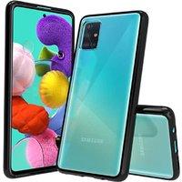 Generic Stoßfeste Schutzhülle für Samsung Galaxy A51 - Schwarz