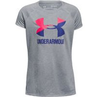Solid Big Logo T-Shirt Mädchen