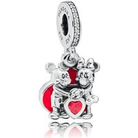 Pandora Disney Minnie And Mickey With Love Dangle Charm 797769CZR