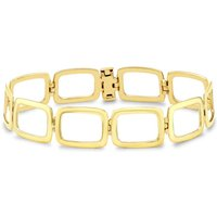 9ct Gold Open Oblong Link 7.5 Inch Bracelet 1.28.2582