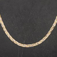 Pre-Owned 9ct Three Colour Gold 16