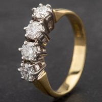 Pre-Owned Four Stone Diamond Ring 4112193