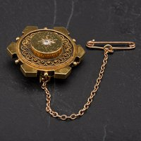 Pre-Owned Vintage Diamond Set Brooch 4113448