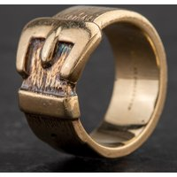 Pre-Owned 9ct Yellow Gold Buckle Ring 4134231