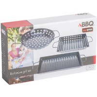 3 Piece Barbecue Grill Set