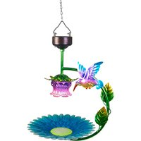 Solar Hanging Bird Bath