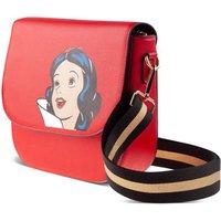 DISNEY Snow White Face Small Flap Shoulder Bag