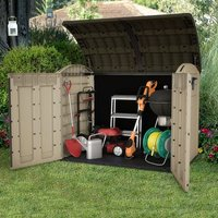 Keter Store-It Out Ultra Outdoor Plastic Storage Bike Shed
