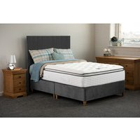 Jonas and james Hamilton Non Storage Divan Bed Set - Steel / Single