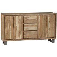 Natural Essential Live Edge Extra Large Sideboard - Light Wood
